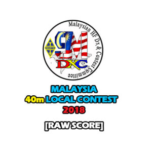 Raw Score – MyC 2018